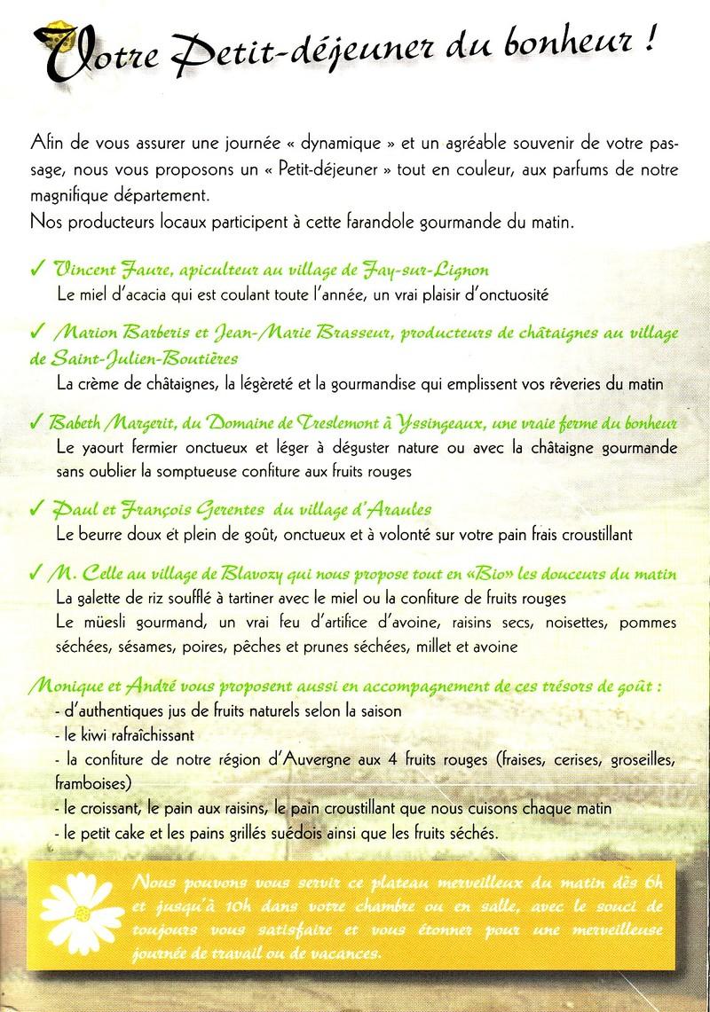 Top Eco-gastronomie en Haute-Loire RX54